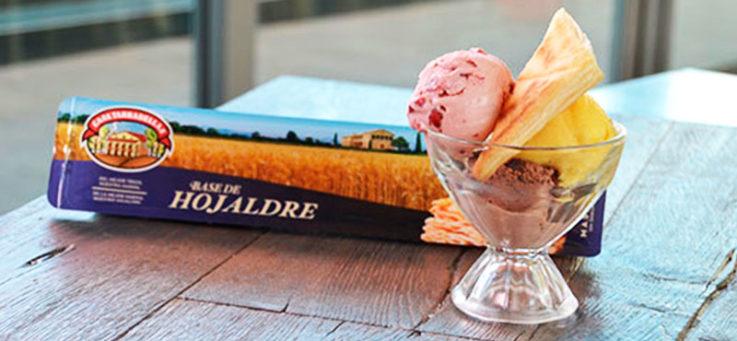 helado-con-hojaldre-casa-tarradellas-hojaldre