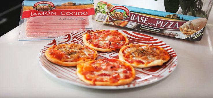 mini-pizzas-jamon-atun-casa-tarradellas-masa-pizza