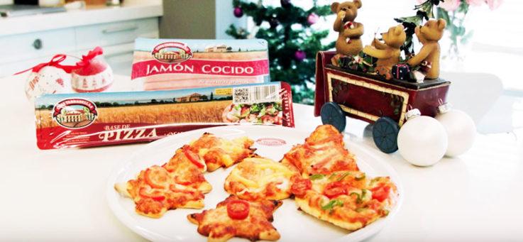 mini-pizzas-navidad-casa-tarradellas-masa-pizza