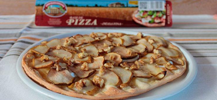 pizza-pera-miel-casa-tarradellas-masa-pizza