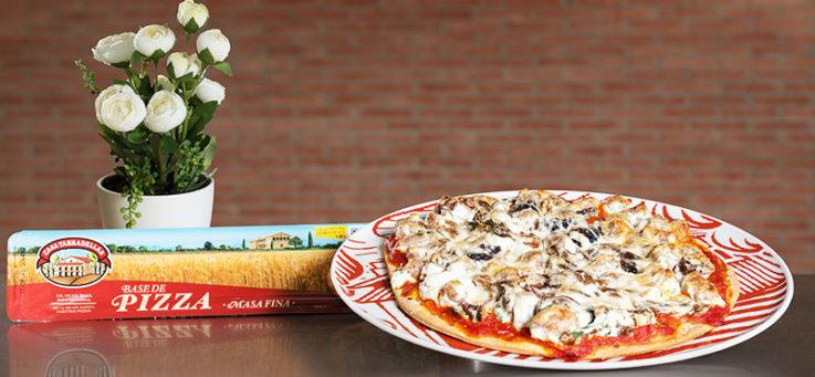 pizza-salchicha-setas-queso-casa-tarradellas-masa-pizza