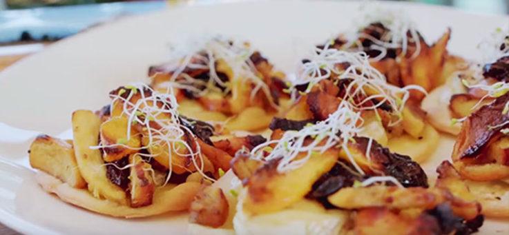 mini-pizzas-pollo-bacon-ciruelas-pinones-casa-tarradellas-masa-pizza